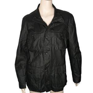 Banana Republic Waxy Field Jacket Linen Cotton